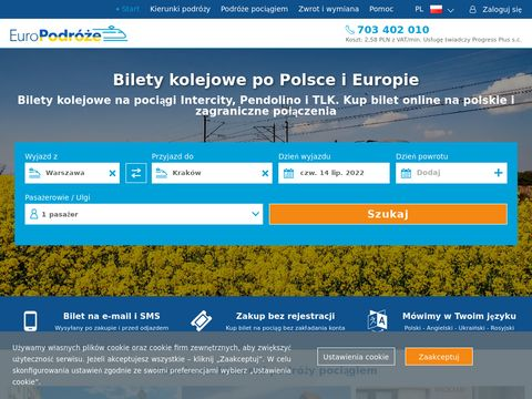 Pociag do warszawy - europodroze.pl