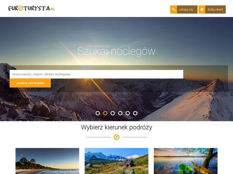 Ogłoszenia turystyczne-tanie noclegi,kwatery,pensjonaty,pokoje,agroturystyka - Euroturysta.pl