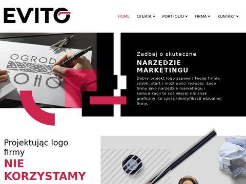 Evito projektowanie logo firmy