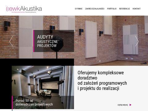 EWKAKUSTIKA panele akustyczne montaż Warszawa