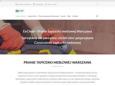 Firma sprzÄ…tajÄ…ca eXclean Warszawa.