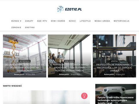 Ezotic.pl- tworzenie stron internetowych