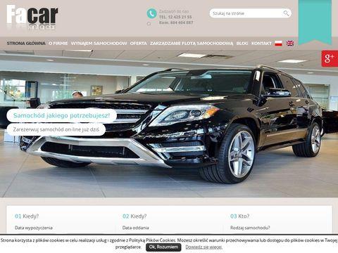FACAR wypożyczalnia samochodów BMW Kraków