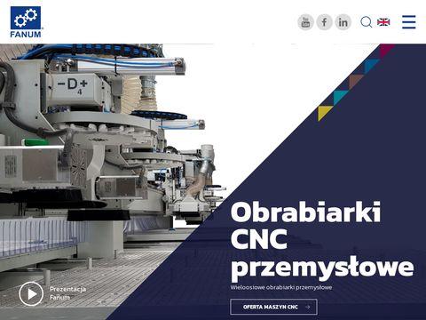 Maszyny CNC obrabiarki - firma Fanum