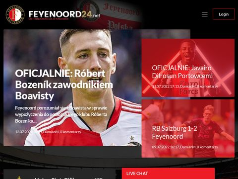 Feyenoord24.net - Polskie centrum kibiców Portowcó