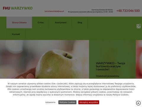 Fhuwarzywko.pl dow贸z warzyw i owoc贸w