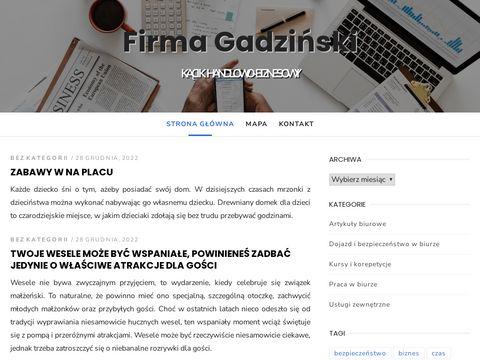 E-Sklep > Firma Gadzi艅ski > Copy-Print-Fax-Scan