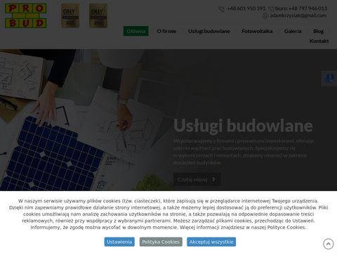 Firmabudowlanaprobud.pl