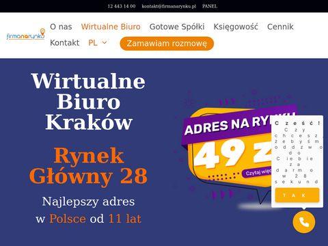 Presti偶owa siedziba firmy - Wirtualne biuro Krak贸w