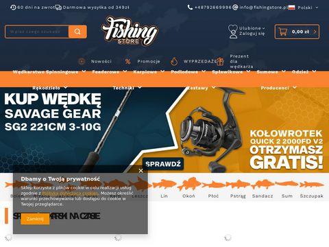 Fishing Store - Internetowy Sklep W臋dkarski