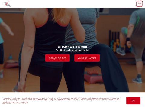 Fit Fun - fitness club, siłownia, odnowa - Warszaw