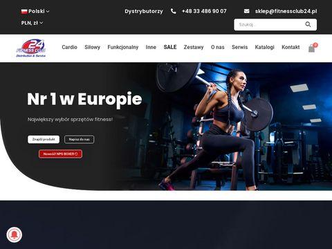 Sprz臋t si艂owy - fitnessclub24.pl