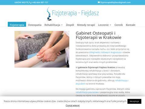 Osteopata, Gabinet leczenia osteopatii w Krakowie