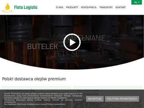Olej sojowy Flota Logistic