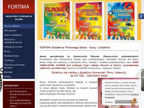 www.fortima.pl - Polish for Foreigners-TÅ'umaczenia
