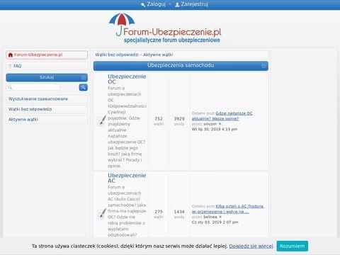 Ubezpieczenia OC i AC - www.forum-ubezpieczenie.pl