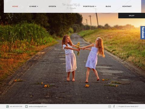Ambrozinio Photography - zatrzymaj ulotne chwile na fotografii