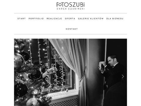 Fotograf 艣lubny Warszawa, Darek Szubi艅ski