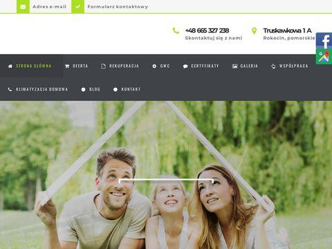 Freshairhome.pl klimatyzacja domowa gdańsk