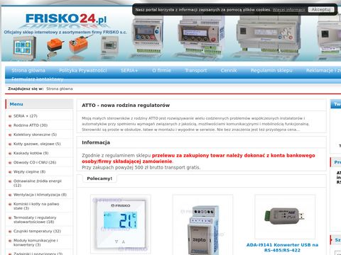 Sterowniki i akcesoria FRISKO, oficjalny sklep internetowy