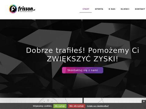 Frisson Agencja reklamowa Jasło typu full serwis