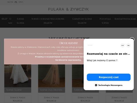 Biżuteria ślubna Kraków - fularazywczyk.pl
