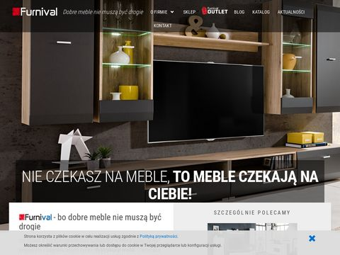 Internetowy sklep meblowy Furnival