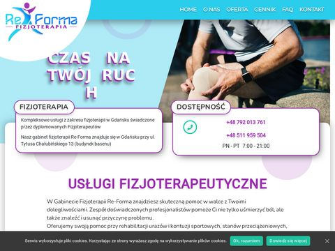 Fizjoterapeuta Gdańsk - Gabinet rehabilitacyjny