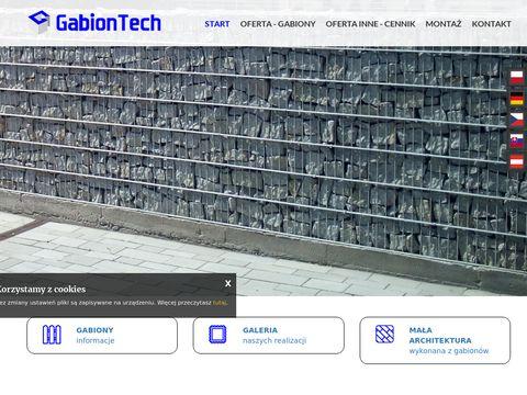 GabionTech - gabiony, kosze gabionowe, ogrodzenia gabionowe