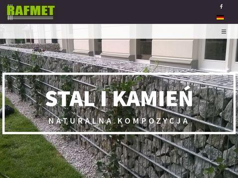 Gabiony - producent, grodzenia gabionowe, tania cena | Rafmet