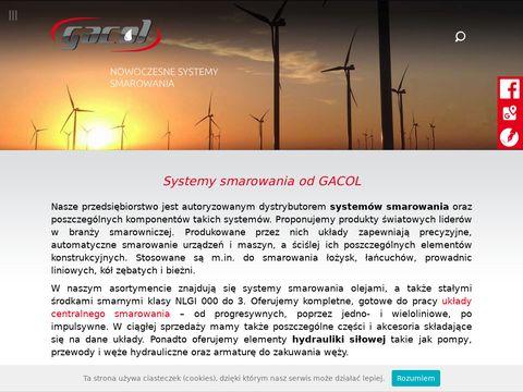 GACOL układy centralnego smarowania