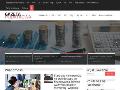 Gazeta podatkowa - prawo gospodarcze