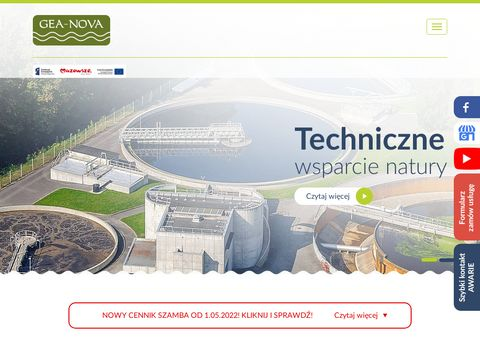 GEA-NOVA Czyszczenie kanalizacji
