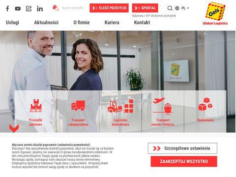 Geis Cargo International Poland Sp. z o.o. spedycja morska
