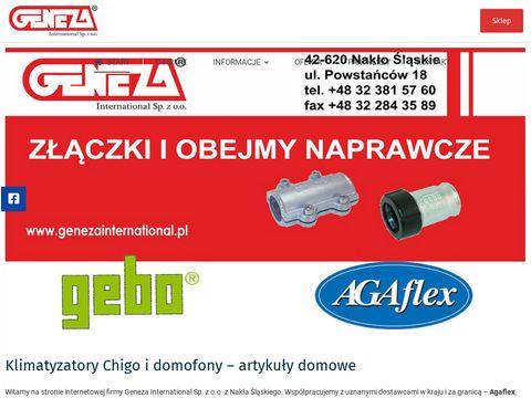 GENEZA wideodomofony