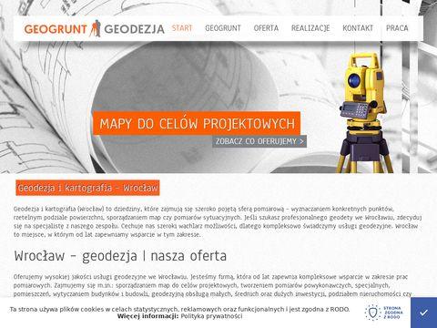 Geodezja Wrocław - Geogrunt