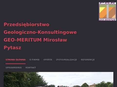 GEO - MERITUM badania geologiczne