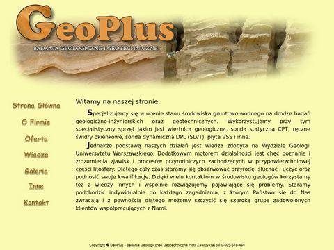 GeoPlus - Geotechnika i Geologia In偶ynierska