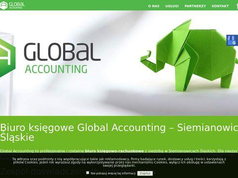 GLOBAL ACCOUNTING sporządzanie sprawozdań finansowych siemianowice śląskie