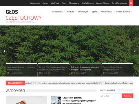 GÅ'os CzÄ™stochowy - Portal Informacyjny