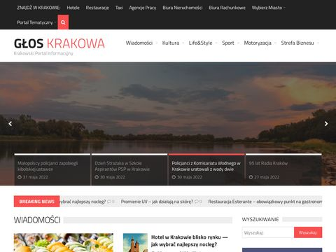 GÅ'os Krakowa - Krakowski Portal Informacyjny