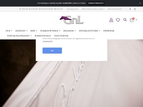 GNL - Internetowy sklep jeździecki.