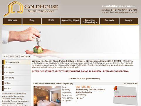 Gold House - Mieszkania Jelenia G贸ra