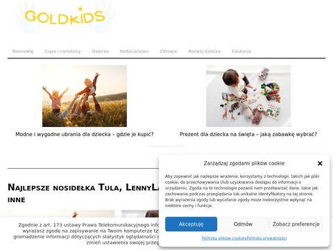 Naturalne kosmetyki dla dzieci - GoldKids.pl