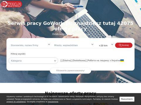 Praca i oferty pracy 鈥� wyszukiwarka GoWork.pl