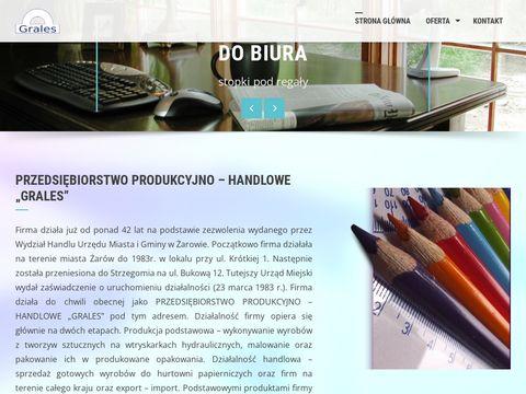 Grales - producent przyborów szkolnych z plastiku