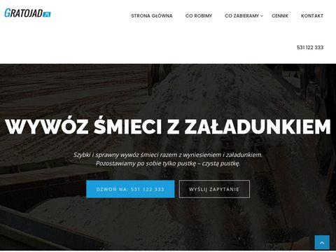 Gratojad.pl - wywóz odpadów Kraków