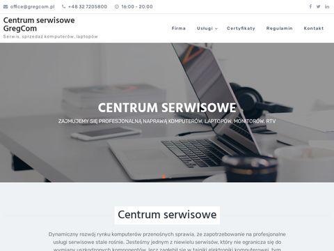 Www.gregcom.pl serwis laptop贸w Rybnik