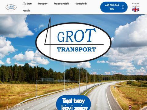 Firma Grot Transport - 艁贸d藕