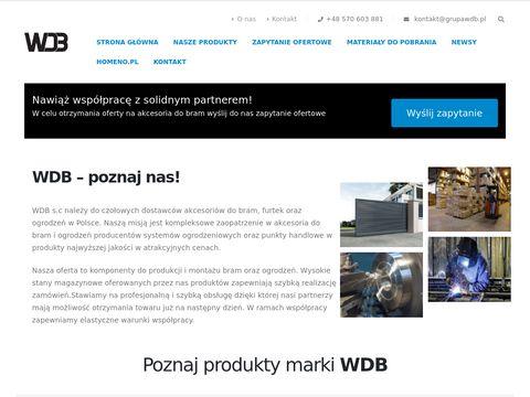 Akcesoria do bram - grupawdb.pl